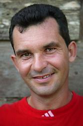 Portrait of white Cuban man,