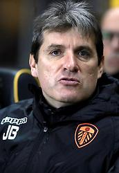 Leeds United Assistant head coach Julio Banuelos