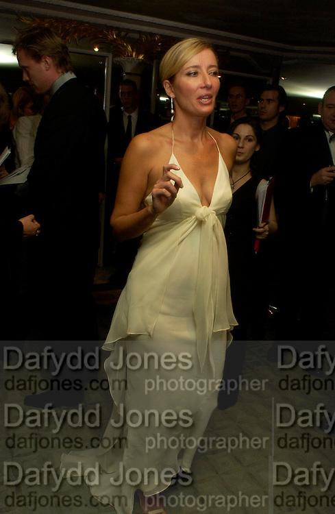 Emma Thompson, 24th London Film Critics Circle Awards in aid of the NSPCC , ( AlFS) the Dorchester, 11 February 2004. © Copyright Photograph by Dafydd Jones 66 Stockwell Park Rd. London SW9 0DA Tel 020 7733 0108 www.dafjones.com