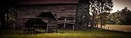 A barn leans a little closer to collapse. Rowan Co. NC
