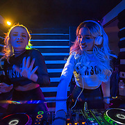 "Rebecca Scheja and Fiona Fitzpatrick DJ at Ultrabar Washington, DC. The duo released their first single, ""Luminary Ones,"" in May of 2010 and scored an opening slot for Robyn on her European Tour. Their sound expanded on buoyant debut album I Love You, Man, which was released in the U.S. in the spring of 2012. Now Rebecca & Fiona's second album, ""Beauty Is Pain"", reveals a continuation in their friendship and an evolution in their music."