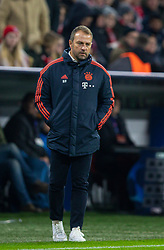 MUNICH, GERMANY - Wednesday, December 11, 2019: Bayern Munich's head coach Hans-Dieter Flick during the final UEFA Champions League Group B match between FC Bayern München and Tottenham Hotspur FC at the Allianz Arena. (Pic by David Rawcliffe/Propaganda)