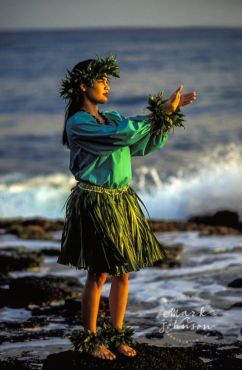 Hula Dancer, Kauai, Hawaii