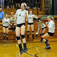 8.27.2013 Midview at Elyria Catholic Varsity Volleyball