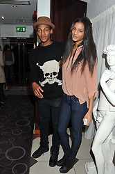 TSANNA LATOUCHE and TY HENDRIX at a party hosted by TopShop to celebrate 10 years of NEWGEN and 10 years of supporting Brtish Fashion held at Le Baron, 29 Old Burlington Street, London W1 on 21st February 2012.