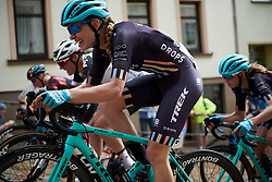 Tayler Wiles (USA) on the Meerane Wall at Lotto Thuringen Ladies Tour 2018 - Stage 4, a 118 km road race starting and finishing in Gera, Germany on May 31, 2018. Photo by Sean Robinson/Velofocus.com