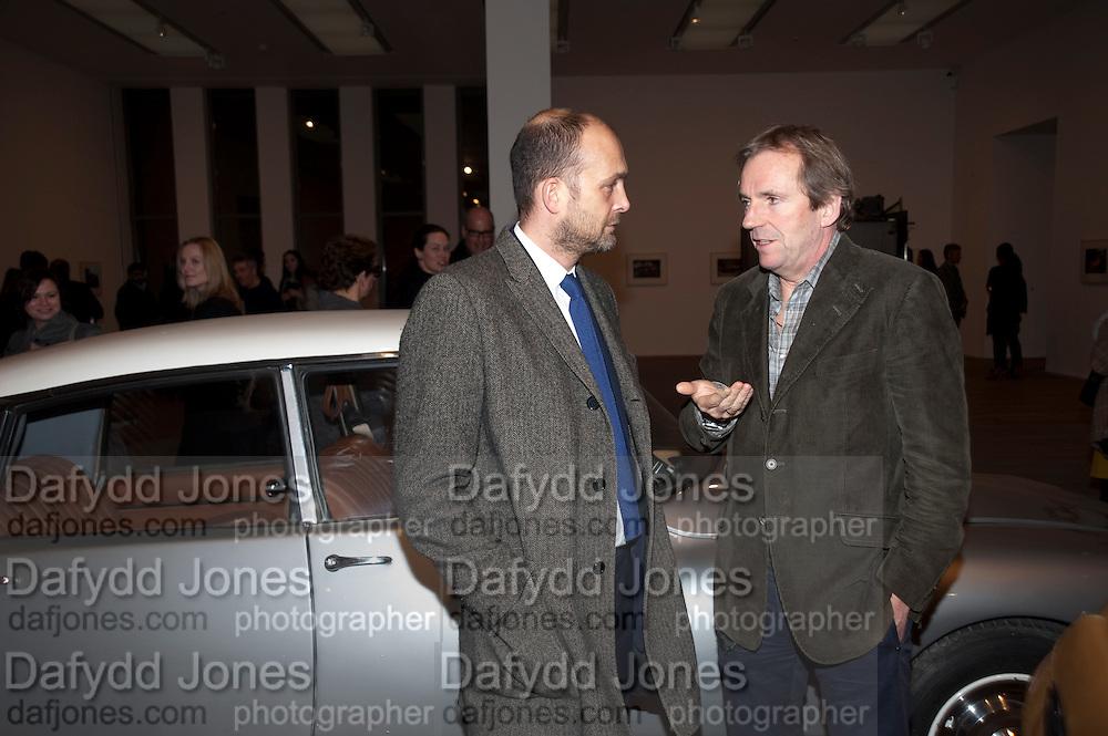 MAX WIGRAM; HUGO RITTSON-THOMAS, Gabriel Orozco reception, Tate Modern, London. 18 January 2010. .-DO NOT ARCHIVE-© Copyright Photograph by Dafydd Jones. 248 Clapham Rd. London SW9 0PZ. Tel 0207 820 0771. www.dafjones.com.