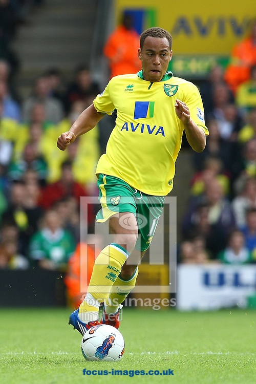 Picture by Paul Chesterton/Focus Images Ltd.  07904 640267.13/05/12.Elliott Bennett of Norwich in action during the Barclays Premier League match at Carrow Road Stadium, Norwich.