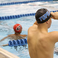 Libby Ezell | BUY AT PHOTOS.DJOURNAL.COM<br /> A Tupelo Swimmer prepares to warm up for his next competition