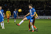 Hartlepool United striker Rhys Oates in action during the Sky Bet League 2 match between Hartlepool United and Wycombe Wanderers at Victoria Park, Hartlepool, England on 16 January 2016. Photo by George Ledger.