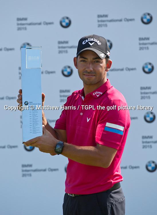 Pablo LARRAZABAL (ESP) during fourth round BMW International Open 2015,Golfclub Munchen Eichenied,Munich,Germany