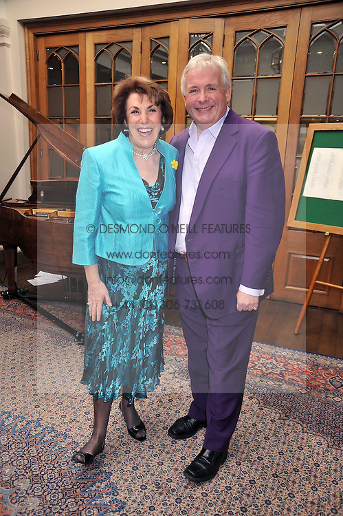 EDWINA CURRIE and CHRISTOPHER BIGGINS at 'Lunch for Life' in aid of Marie Curie Cancer Care held at Wentworth Golf Club, Berkshire on 2nd march 2009.