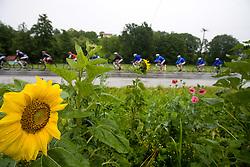 Peloton in Slovenske Konjice at 3rd stage of Tour de Slovenie 2009 from Lenart to Krvavec, 175 km, on June 20 2009, Slovenia. (Photo by Vid Ponikvar / Sportida)