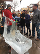 Berks Co., Ice carving festival, Dan Roberts, West Reading, PA