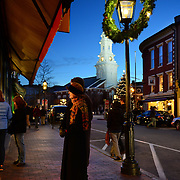 Taken during the Vintage Christmas season in Portsmouth, NH. Dec. 2012