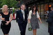 ELIZABETH MURDOCH; BARON GOULD OF BROOKWOOD; GAIL REBUCK, Summer party hosted by Rupert Murdoch. Oxo Tower, London. 17 June 2009