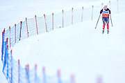 Schladming, Austria - 2017 March 20: Ida Lovise Wirum Saeter from SO Norway competes in Cross Country Race while Special Olympics World Winter Games Austria 2017 in Ramsau am Dachstein on March 20, 2017 in Schladming, Austria.<br /> <br /> Mandatory credit:<br /> Photo by &copy; Adam Nurkiewicz / Mediasport<br /> <br /> Adam Nurkiewicz declares that he has no rights to the image of people at the photographs of his authorship.<br /> <br /> Picture also available in RAW (NEF) or TIFF format on special request.<br /> <br /> Any editorial, commercial or promotional use requires written permission from the author of image.<br /> <br /> Image can be used in the press when the method of use and the signature does not hurt people on the picture.
