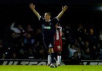 Photo: Alan Crowhurst.<br />Southend United v Southampton. Coca Cola Championship. 09/12/2006. Southend's Alan McCormack celebrates his goal 2-0.