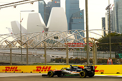 September 16, 2016 - Singapur, Singapur - Motorsports: FIA Formula One World Championship 2016, Grand Prix of Singapore, .#11 Sergio Perez (MEX, Sahara Force India F1 Team) (Credit Image: © Hoch Zwei via ZUMA Wire)