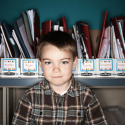 Blake Jewett. Casey Brennan's kindergarten class at Hopkins Elementary School in Sherwood on Wednesday, May 23, 2012.