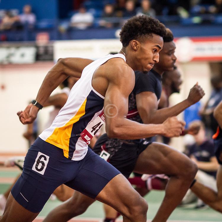 College Men 60m Hurdles, Dickson, NC A&T, Armory Track Invitational Indoor,