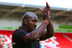 Doncaster Rovers manager Darren Moore - Mandatory by-line: Ryan Crockett/JMP - 03/08/2019 - FOOTBALL - The Keepmoat Stadium - Doncaster, England - Doncaster Rovers v Gillingham - Sky Bet League One