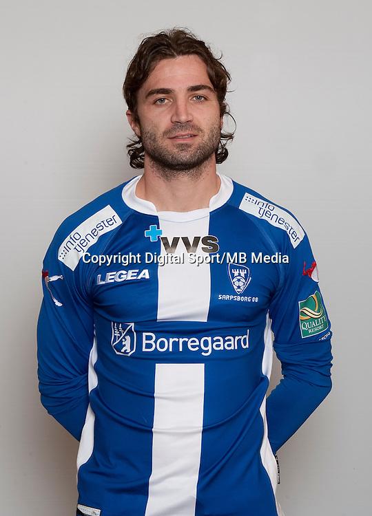 Fotball , Tippeligaen 2013 , Eliteserien , portrett , portretter , Sarpsborg08 , J&egrave;r&egrave;my Berthod<br /> Foto: Astrid M. Nordhaug