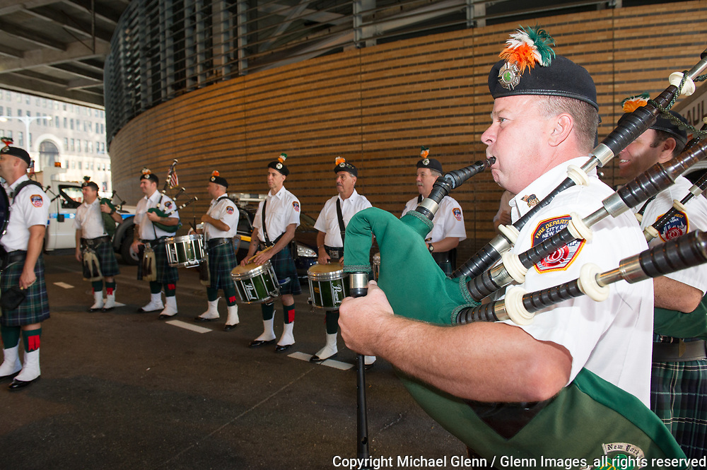24 Sep 2017 Manhattan, New York United States of America // FDNY attends the Stephen Siller Tunnel to Towers run at the World Trade Center site  Michael Glenn  /   for the FDNY
