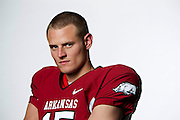 FAYETTEVILLE, AR - MAY 19:   Quarterback Ryan Mallett #15 of the Arkansas Razorbacks on May 19, 2010 in Fayetteville, Arkansas.  (Photo by Wesley Hitt/Getty Images) *** Local Caption *** Ryan MallettUniversity of Arkansas Razorback 2010-2011 Football Team action photos....©Wesley Hitt.All Rights Reserved.501-258-0920.