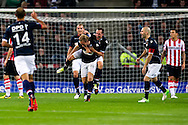 Onderwerp/Subject: Willem II - Eredivisie<br /> Reklame:  <br /> Club/Team/Country: <br /> Seizoen/Season: 2012/2013<br /> FOTO/PHOTO: Ricardo IPPEL (BEHIND) of Willem II celebrating his goal with Niek VOSSEBELT (FRONT) of Willem II ( 0 - 2 ). (Photo by PICS UNITED)<br /> <br /> Trefwoorden/Keywords: <br /> #02 $94 &plusmn;1341407545167<br /> Photo- &amp; Copyrights &copy; PICS UNITED <br /> P.O. Box 7164 - 5605 BE  EINDHOVEN (THE NETHERLANDS) <br /> Phone +31 (0)40 296 28 00 <br /> Fax +31 (0) 40 248 47 43 <br /> http://www.pics-united.com <br /> e-mail : sales@pics-united.com (If you would like to raise any issues regarding any aspects of products / service of PICS UNITED) or <br /> e-mail : sales@pics-united.com   <br /> <br /> ATTENTIE: <br /> Publicatie ook bij aanbieding door derden is slechts toegestaan na verkregen toestemming van Pics United. <br /> VOLLEDIGE NAAMSVERMELDING IS VERPLICHT! (&copy; PICS UNITED/Naam Fotograaf, zie veld 4 van de bestandsinfo 'credits') <br /> ATTENTION:  <br /> &copy; Pics United. Reproduction/publication of this photo by any parties is only permitted after authorisation is sought and obtained from  PICS UNITED- THE NETHERLANDS