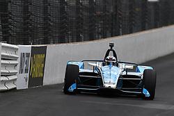 May 19, 2019 - Indianapolis, IN, U.S. - INDIANAPOLIS, IN - MAY 19: IndyCar driver Max Chilton (59) of the Gallagher Carlin drives into turn one during the practice session for the IndyCar Series 103rd Indianapolis 500 on May 19, 2019, at the Indianapolis Motor speedway in Indianapolis, Indiana. (Photo by Michael Allio/Icon Sportswire) (Credit Image: © Michael Allio/Icon SMI via ZUMA Press)