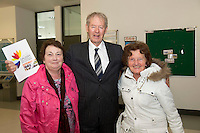Maura Diviney Renmore Active Retirement , Micheal O'Mhuircheataigh   and Josephine Naughton  Mervue Active Retirement at NUIG for the launch of the Galway Age Friendly Strategy, which sets out a plan to make Galway City and County a great place in which to grow up and grow old. The Strategy was developed following extensive consultation with older people across the city and county and aims to ensure that older people continue to be supported to play an active role in their communities. The launch of the strategy is an important milestone as it sets out a blueprint for how we will plan and develop communities in the coming years to ensure that Galway is a truly great place in which to grow up and grow old. Photo:Andrew Downes