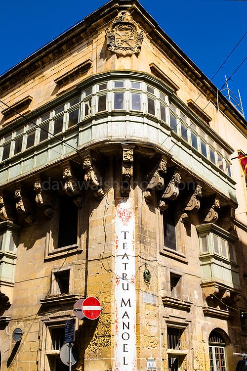Teatru Manoel, Valletta, Malta