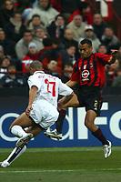 Milan 08-03-2005<br />Champions League 2004-2005<br />Milan Manchester United<br />nella  foto Serginho<br />Foto Snapshot / Graffiti