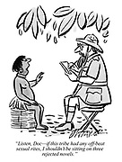 """Listen, Doc—if this tribe had any off-beat sexual rites, I shouldn't be sitting on three rejected novels."""