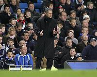 Photo: Lee Earle.<br /> Chelsea v Middlesbrough. The Barclays Premiership.<br /> 03/12/2005. Chelsea manager Jose Mourinho.