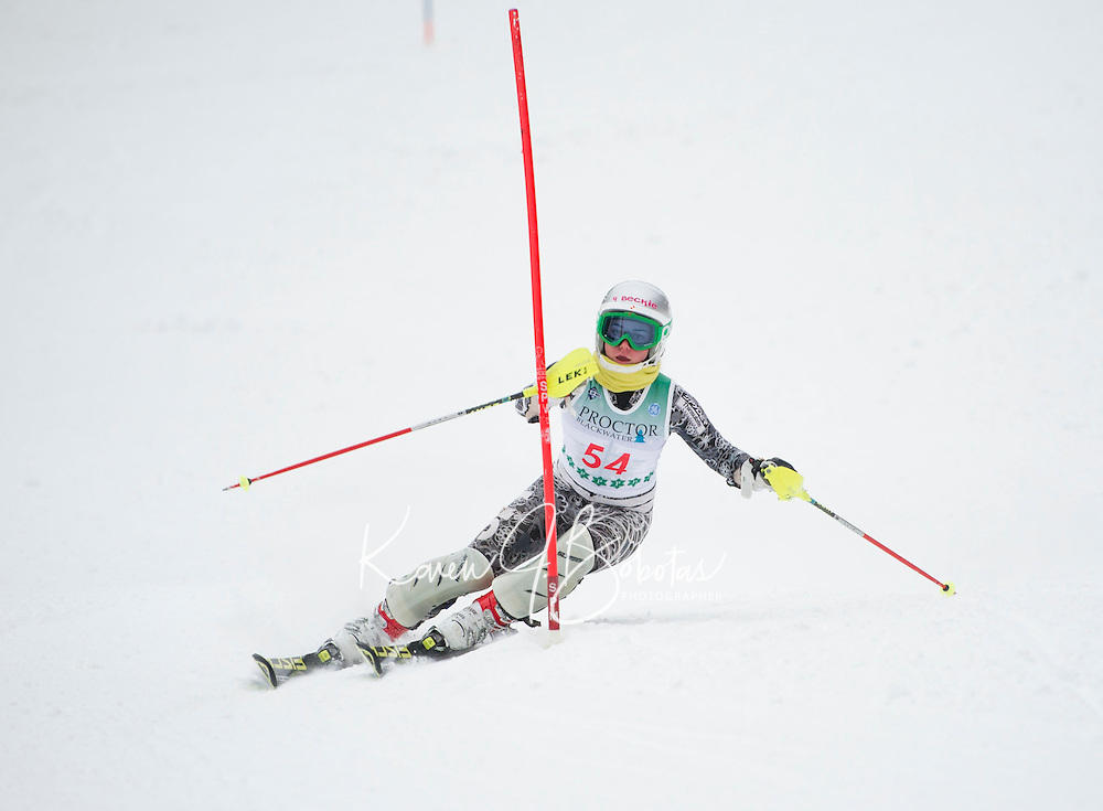 FIS Slalom at Proctor Blackwater Ski Area in Andover, NH  December 31, 2012.
