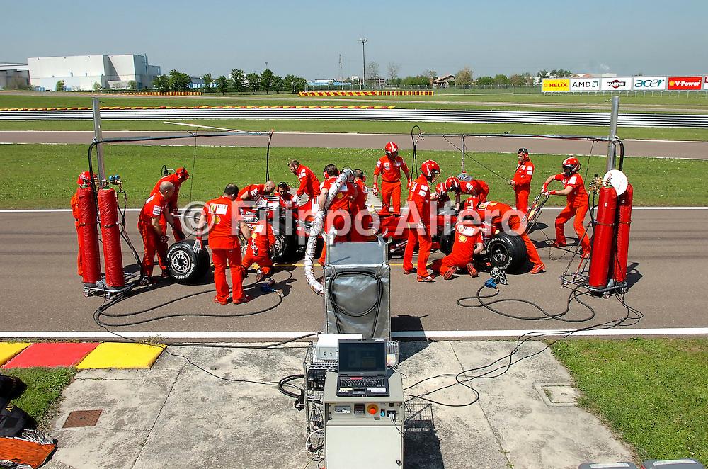 &copy; Ferrari / LaPresse / Filippo Alfero<br /> Fiorano (MO), 23/04/2008<br /> motori<br /> Ferrari Club a Fiorano