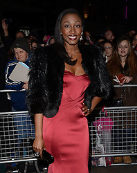 Beverley Knight attends The 10th What's On Stage Awards at The Prince Of Wales Theatre, London on Sunday 15  February 2015