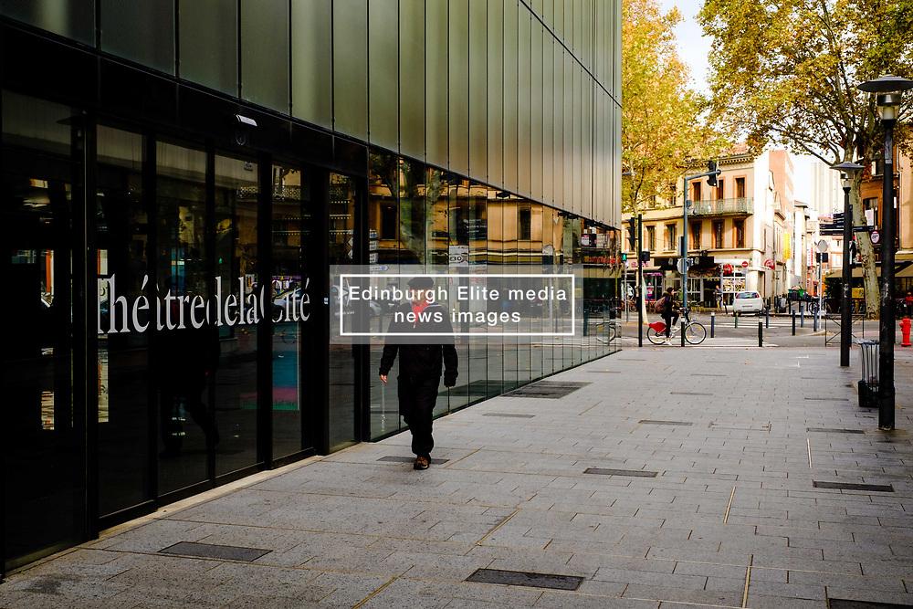 The exterior of the ThéâtredelaCité in Toulouse, France<br /> <br /> (c) Andrew Wilson | Edinburgh Elite media