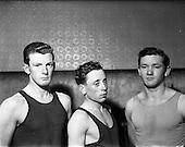 1953 - Corinthians Boxing Club, Dublin personalities.
