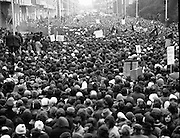Demonstration at British Embassy after Bloody Sunday.02/02/1972
