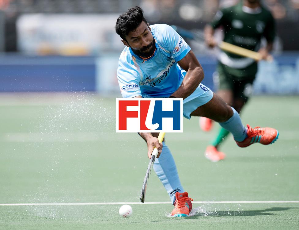 BREDA - Rabobank Hockey Champions Trophy<br /> India - Pakistan<br /> Photo: Surender Singh.<br /> COPYRIGHT WORLDSPORTPICS FRANK UIJLENBROEK