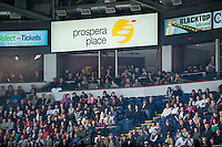 KELOWNA, CANADA - APRIL 5:  on April 5, 2014 during Game 2 of the second round of WHL Playoffs at Prospera Place in Kelowna, British Columbia, Canada.   (Photo by Marissa Baecker/Getty Images)  *** Local Caption ***
