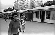 Tiraspol, 15/07/2004: area commerciale
