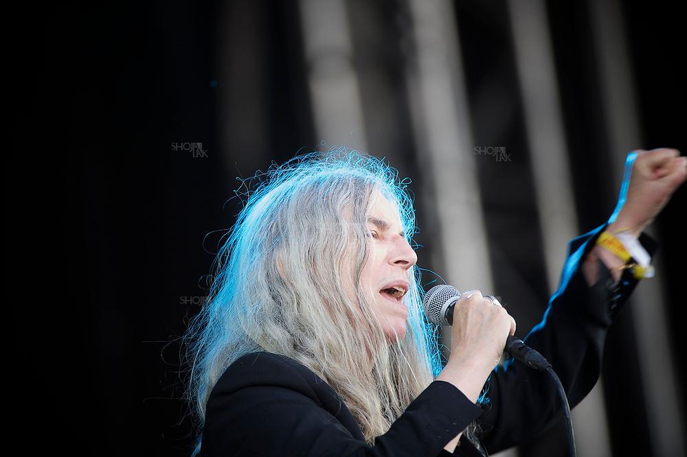 RUISROCK, FINLAND - JULY 10: performs at the Ruisrock Festival on July 8, 2011 in Turku, Finland.