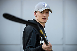 Portrait of Jan Drozg, hockey player of NHL team Pittsburgh Penguins, on August 5, 2019 in Dvorana Tabor, Maribor, Slovenia. Photo by Matic Klansek Velej / Sportida