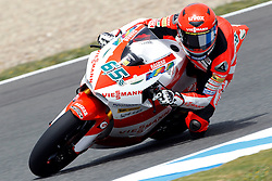 01.05.2010, Motomondiale, Jerez de la Frontera, ESP, MotoGP, Race, im Bild Stefan Bradl - Viessmann Kiefer racing team. EXPA Pictures © 2010, PhotoCredit: EXPA/ InsideFoto / SPORTIDA PHOTO AGENCY