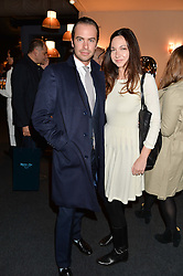 ROBERT SHEFFIELD and CELIA WEINSTOCK at the PAD London 10th Anniversary Collector's Preview, Berkeley Square, London on 3rd October 2016.