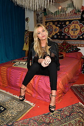 LAURA WHITMORE at the opening of Hendrix's apartment at 23 Brook St, Mayfair, London on 9th February 2016.